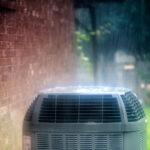 raining on air conditioning