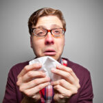 sneezing, itchy eyes, runny-nose
