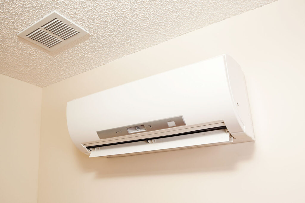 ducltess mini split air conditioner