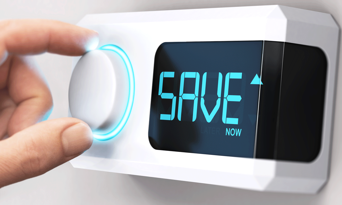 Thermostat can save energy and money