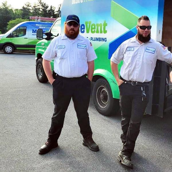 MoreVent HVAC Technicians