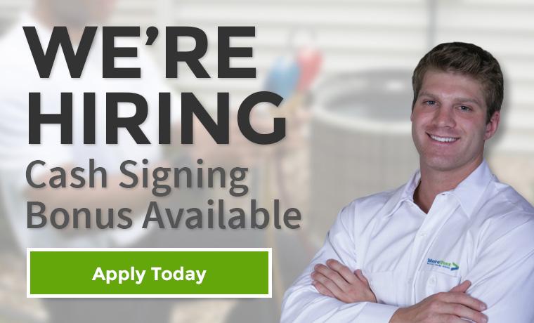 We're Hiring - Cash Signing Bonus Available