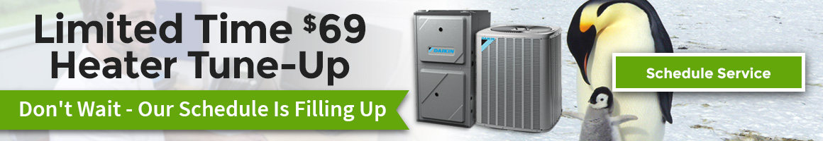 Limited Time $69 Heater Tune-Up