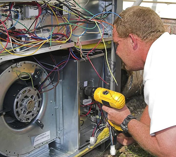 Service Area - Air Conditioning Repair