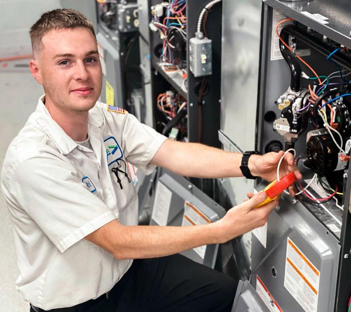 Service Area - Furnace Repair